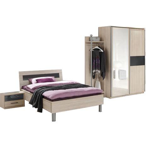 Priess Moebel by Priess Riva 4 Teiliges Schlafzimmer Set In Akazie Mit