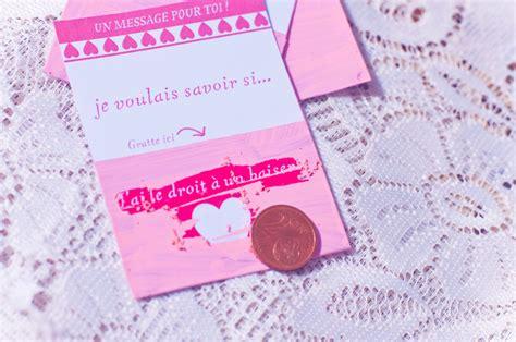 chambre mobile diy tickets à gratter de la st valentin
