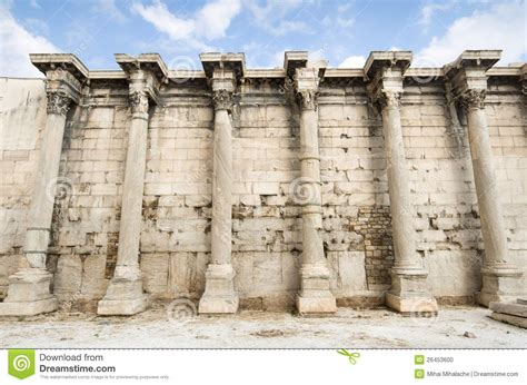 Ancient Greek Building Stock Photo. Image Of Athens