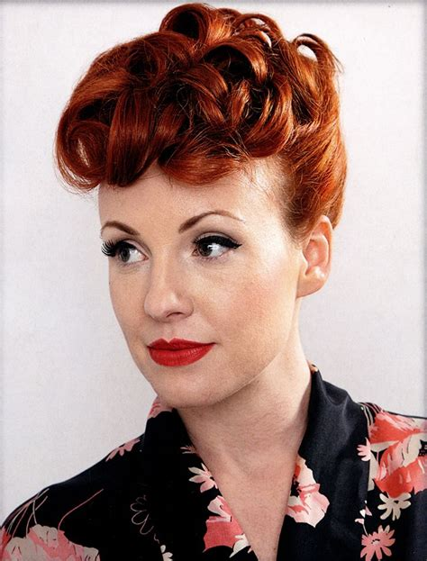 Popular Hairstyles In The 1950s the 1950 s poodle hairstyle tutorial hairstyleinsider