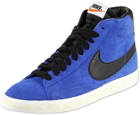 nike blazer mid 09 prm chaussures bleu noir