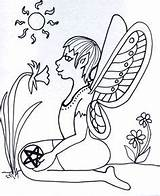 Pages Coloring Pagan Kid Wicca Grove Goddess Space Beliefs sketch template