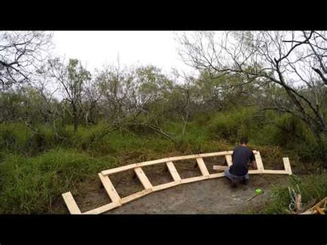 build a berm building a wooden berm youtube