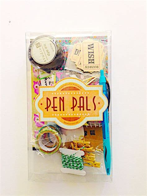 pal letters ideas  pinterest  pals