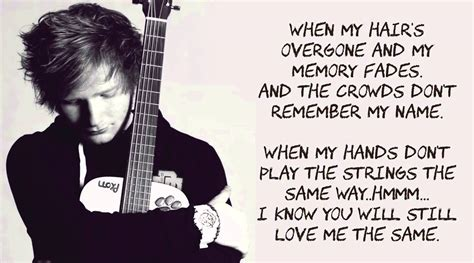 thinking  loud  ed sheeran lyrics  youtube