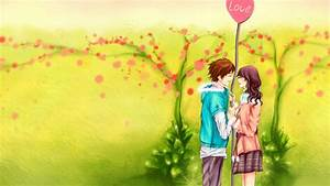 3d Love Couple Cartoon Wallpapers Download