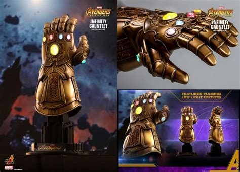 infinity gauntlet  scale collectible