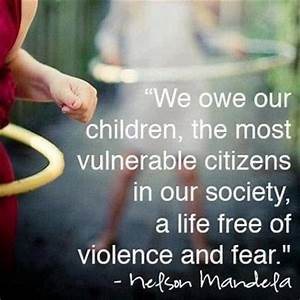 We owe our children, the most vulnerable citizens in our ...