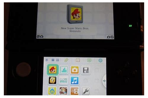 can 3ds download ds games