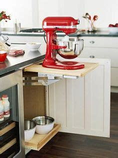 kitchen cabinets with this mixer cabinet by thomasville cabinetry frees up 6469
