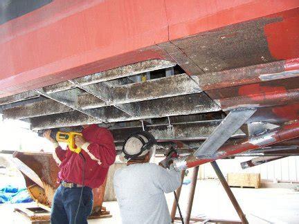 Steel Boat Rust Repair by Repair In Aluminum Boat Allaboutdedal