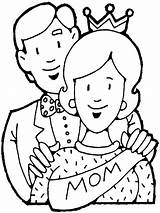 Pages Parents Colouring Coloring Showing sketch template