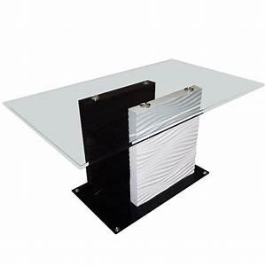 Table Verre Salle A Manger : 1000 images about table design on pinterest mosaics taupe and vintage ~ Melissatoandfro.com Idées de Décoration