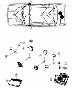 2014 Dodge Challenger Speaker  Sub Woofer  Speakers  Audio