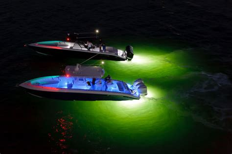 using led lighting on your boat boats