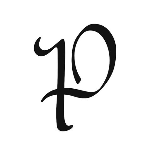 letter p  cool funny