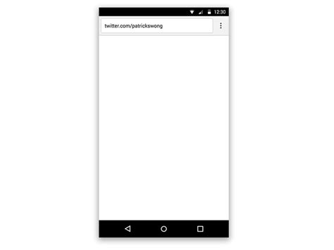 chrome browser for android android material design chrome web browser sketch freebie