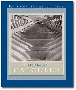 Thomas Calculus 12 Edition Solutions Manual Pdf
