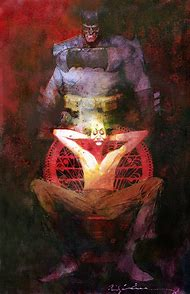 Batman Bill Sienkiewicz Art