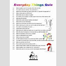 Test Your General Knowledge + Wordsearch Incl Solutions  Esl Worksheet By Sasu610