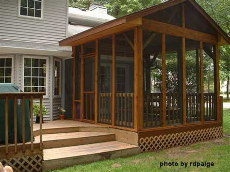 screen panels  porches versatile  porches decks