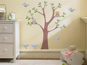 Sweet nature wall decal modern nursery decor
