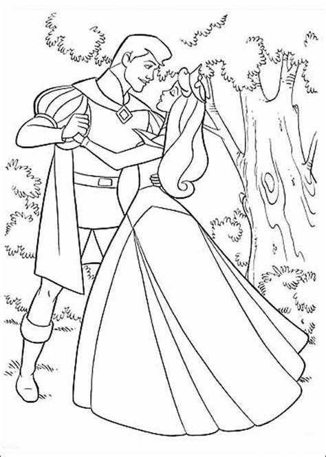 sleeping beauty coloring pages coloringpagesabccom