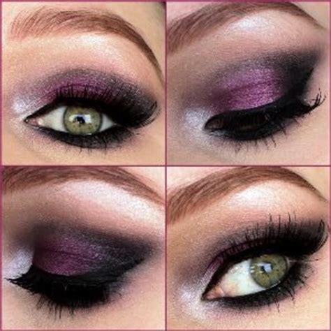 dark purple smokey eyeshadow amazingmakeupscom