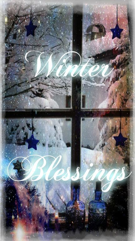 winter blessings pictures   images  facebook