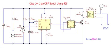 Clap Off Switch Using