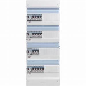 Tableau Electrique 4 Rangées : tableau electrique legrand 4 rang es pr cabl travaux ~ Dailycaller-alerts.com Idées de Décoration