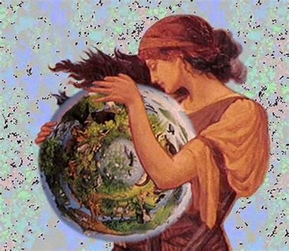 Greek Mythology Earth Goddess Pluspng Gaia Mother