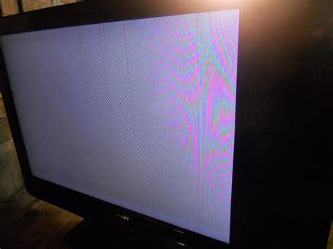 solucionado tv lcd sony bravia modelo 40m4000 pantalla blanca yoreparo