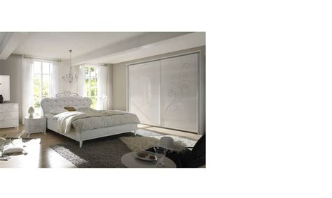 chambre design blanche chambre adulte design blanche avec sérigraphie altone