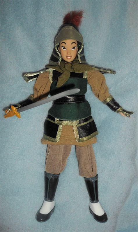 warrior ping  mulan  doll