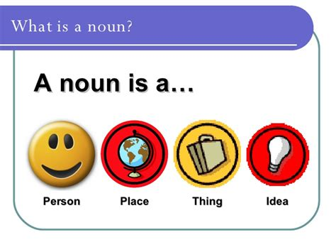 Nouns For Ks1 Resources Based On Corbett And Strong By