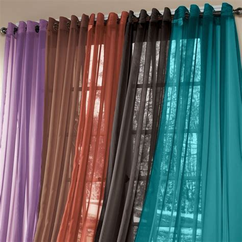 teal curtains ikea brylanehome 174 studio sheer voile grommet panels curtains