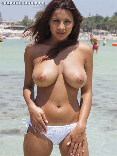 Next Door Tease Lacey Banghard White Bikini