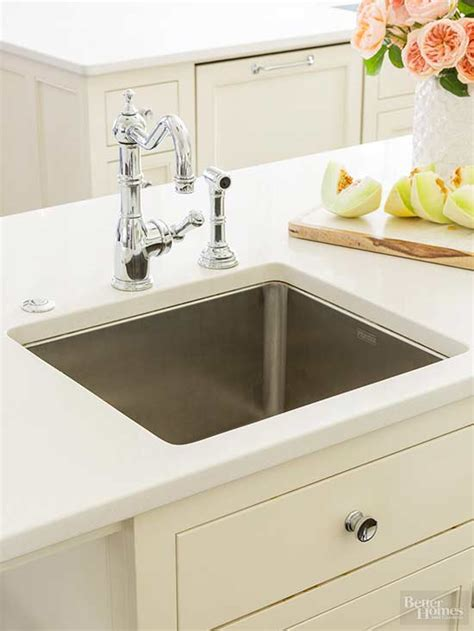 sink materials pros and cons kitchen sink basics