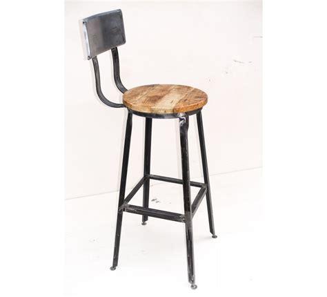 chaise de bar metal chaise de bar métal quot atelier gray quot 7013
