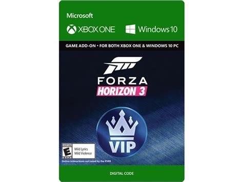 forza horizon 3 windows 10 forza horizon 3 vip xbox one windows 10 digital code newegg