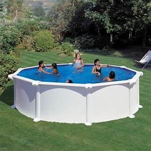 Dimension Piscine Hors Sol : piscine hors sol gre atlantis ronde 460 h132 mypiscine ~ Melissatoandfro.com Idées de Décoration