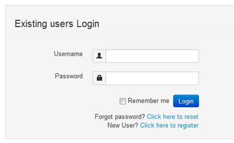 Bootstrap Icons For The Login Form