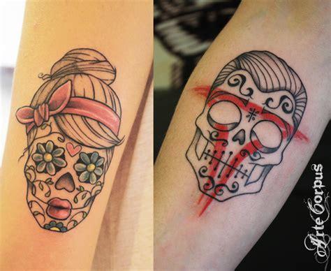 tatouage couple puzzle cochese tattoo