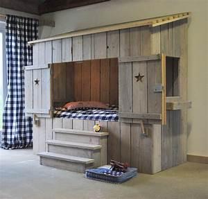 Lit Cabane Pour Enfant : cabane lit ~ Teatrodelosmanantiales.com Idées de Décoration