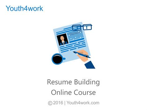 resume building course