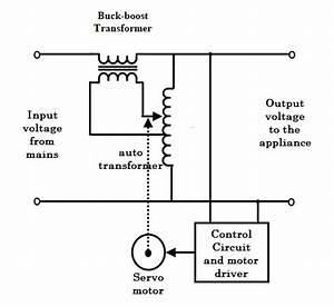 Circuit Diagram Of Manual Voltage Stabilizer