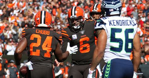 seattle seahawks  cleveland browns  quarter game