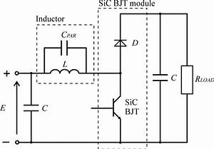 Schematic Diagram Of The Dc U2013dc Boost Converter With Sic