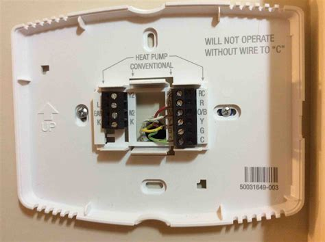 honeywell smart thermostat wiring rth9580wf